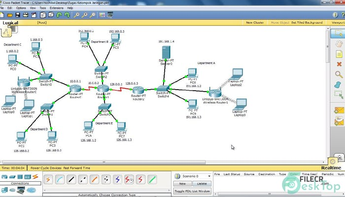 Cisco Packet Tracer 7.3.1 Free Download Full Activated
