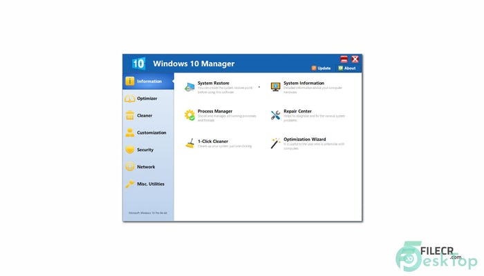 Download Yamicsoft Windows 10 Manager 3.4.3 Free Full Activated