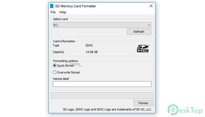 Download SD Memory Card Formatter 5.0.1 Free