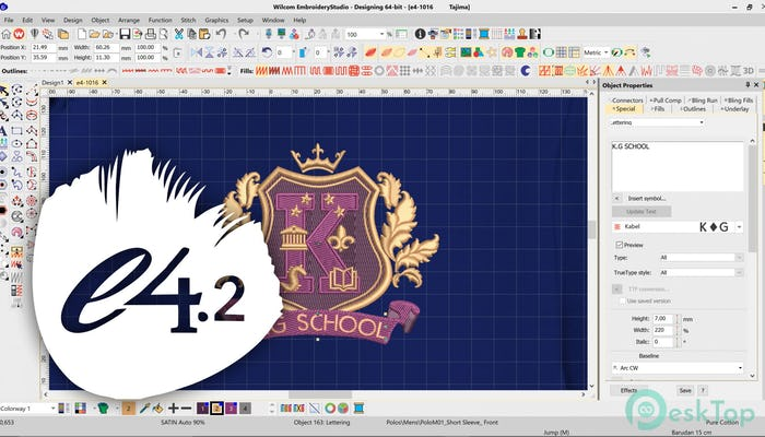 Download Wilcom Embroidery Studio e1.5 Free Full Activated