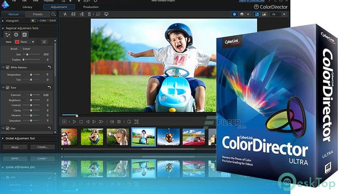 Download CyberLink ColorDirector Ultra 9.0.2505.0 Free Full Activated