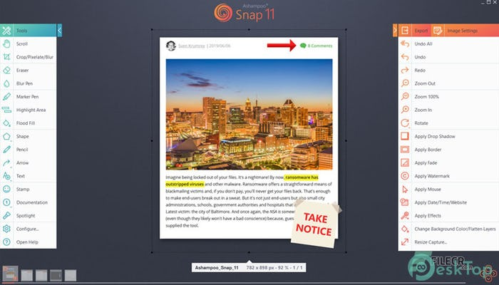 Download Ashampoo Snap 12.0.2 Free Full Activated