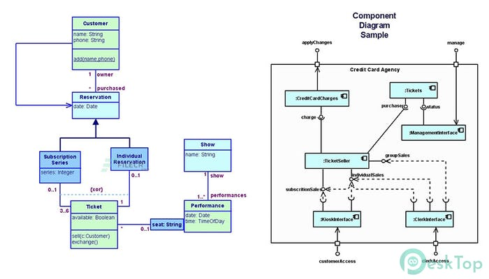 Download UML Diagrammer 6.76 Free Full Activated