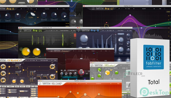 FabFilter Total Bundle 2020.6 Free Download