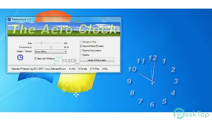 TheAeroClock 6.11 Free Download