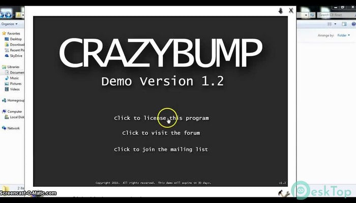Download CrazyBump 2010 1.2 Free