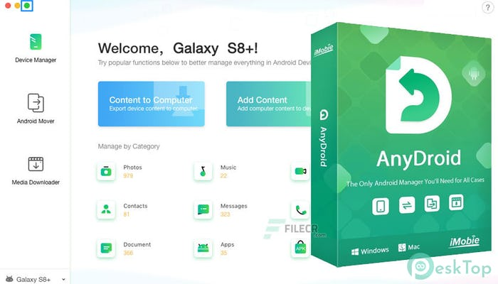 AnyDroid 7.4.0.20201021 Free Download