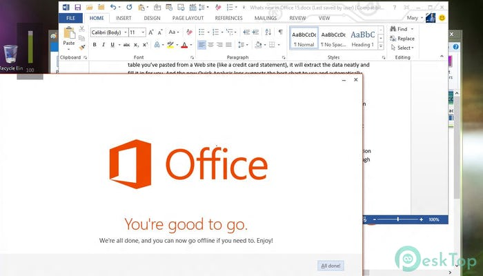 Microsoft Office 2016 Pro Plus 16.0.5122.1000 Free Download